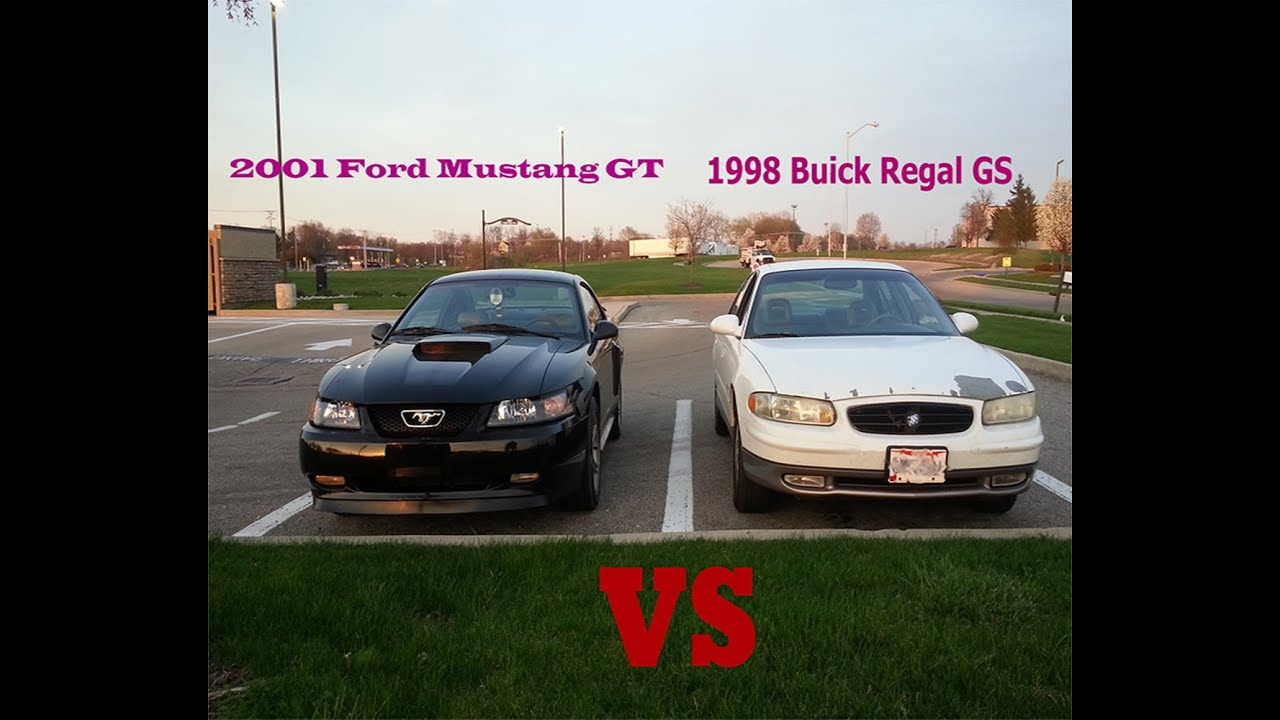 2001 mustang gt vs 1998 buick regal gs youtube. Black Bedroom Furniture Sets. Home Design Ideas