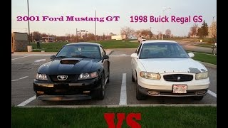 2001 Mustang GT vs 1998 Buick Regal GS