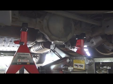 Jeep Commander Rear Differential Lifting Tutorial