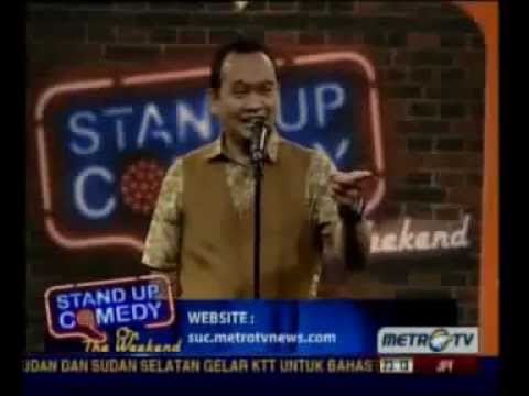 Stand Up Comedy On The Weekend Metro TV 05 Januari 2013   part 2   YouTube