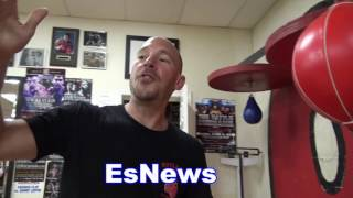 What Is The Best Punching Bag To Work On Trainer Breaks It Down - EsNews Boxing