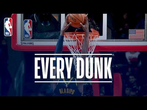 Victor Oladipo, Giannis Antetokounmpo, and Every Dunk From Friday Night | November 10, 2017