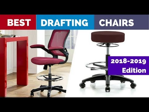 Best Drafting Chair Big Lots Chairs Patio For Standing Desks In 2018 Youtube