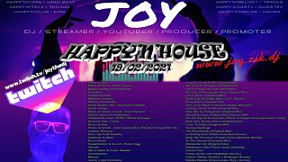 HAPPY'N'HOUSE 19/02/2020  mixed by JOY live on TWITCH