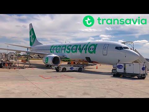 transavia boeing 737 800 paris to porto portugal youtube. Black Bedroom Furniture Sets. Home Design Ideas