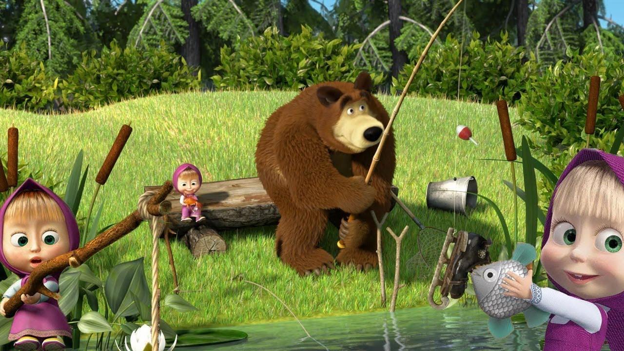 маша и медведь фотообои хорошее качество кизляр олицетворение многолетних
