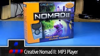 Creative Nomad II: MP3 Player from 2000