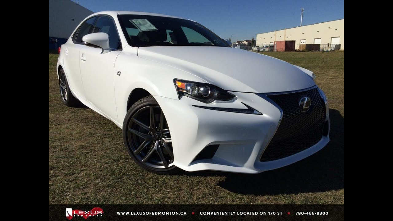 2016 Lexus Is 350 Awd F Sport Series 2 Review Youtube