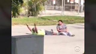Police shoot unarmed man with hands up