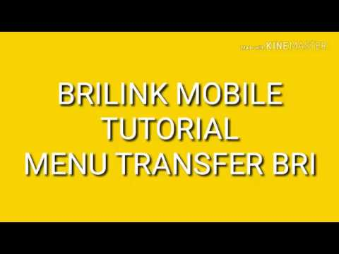TUTORIAL CARA TRANSFER BRI BRILINK MOBILE
