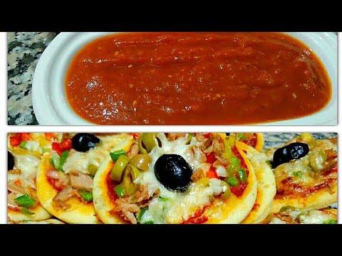 تحضيرات رمضان صلصة البيتزا الايطالية بدون صلصة معلبة عاااقدة