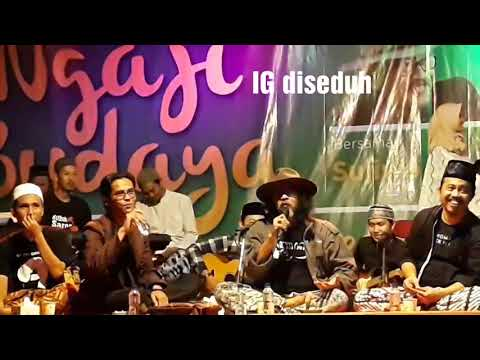 Sujiwo Tejo - Ngaji Budaya - Lagu #Jancuk dan KeEsa an Tuhan menurut Ammar Abdillah