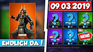 ❌ENDLICH! SHOGUN SKIN back IN SHOP!! 😱 - NEW OBJECT SHOP in FORTNITE is DA!!