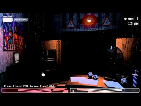 Proof that FNaF 2 works in widescreen