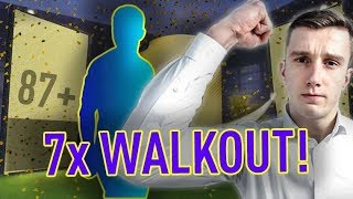 fifa 18 l trafiłem 7x walkout 87 l 2x halloween l 2x in form pack opening fifa ultimate team
