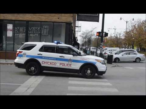 Chicago Police Department Ford Explorer Response [12/10/16]