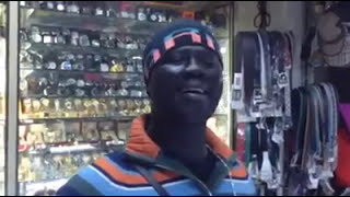 African guy singing Hindi song / male and female