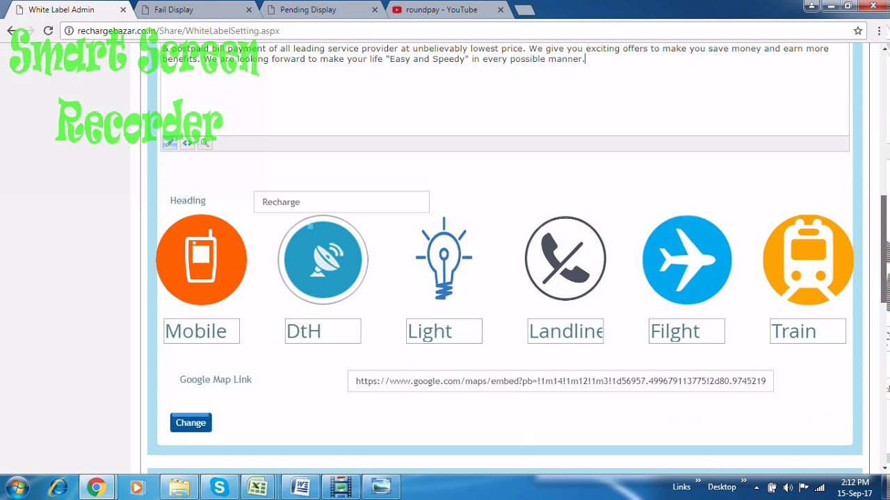 MULTI RECHARGE SOFTWARE WITH WHITELABEL