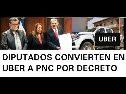 DIPUTADOS POR DECRETO CONVIERTEN A PNC EN UBER SOLO EN EL SALVADOR PASA ESTO