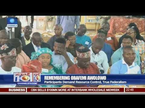 Remembering Obafemi Awolowo: Participants Demand Resource Control, True Federalism