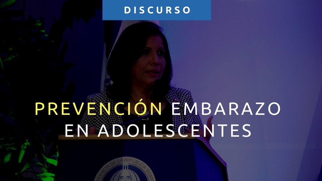 Discurso Margarita Cedeño Embarazo En Adolescentes Una Máquina De Reproducción De La Pobreza