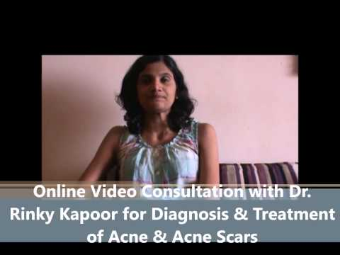 How I Got Rid of Acne Scars   Online Video Consultation with Dr. Rinky Kapoor