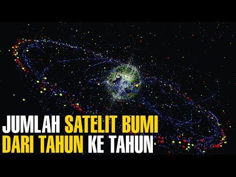 MENCENGANGKAN ! Inilah Jumlah Satelit Yang Mengorbit Bumi Dari Tahun Ke Tahun | Fakta Unik #17