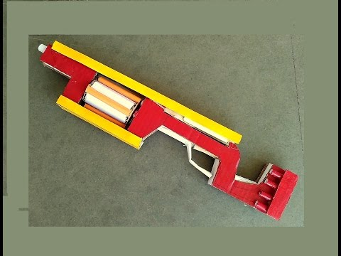 How to Make Nerf Doomlands Lawbringer gun  - at home