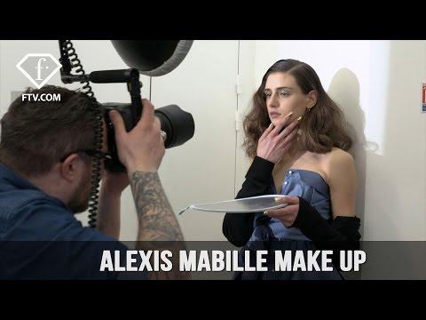 Paris Fashion Week Fall/WInter 2017-18 – Alexis Mabille Make up   FashionTV