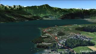 SwissCityMarathon - Lucerne: Streckenflug / Flight over race course