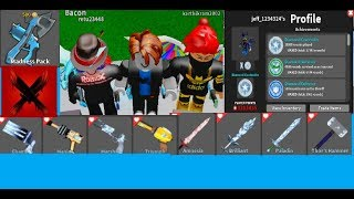 Roblox MMX:Madness Pack Gameplay + Trading For Cool Effects