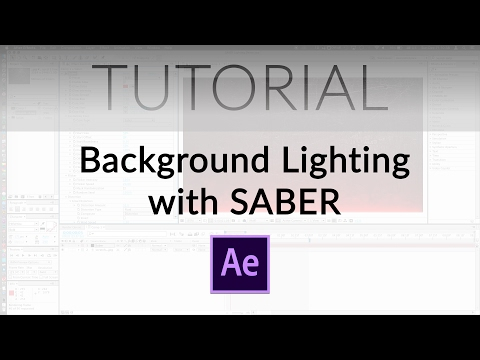 Create Wicked Background Lighting with SABER!