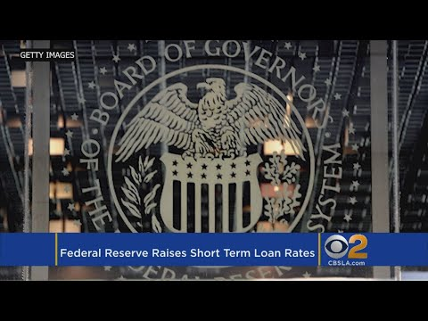 Federal Reserve Raises Key Interest Rate By A Quarter-Point