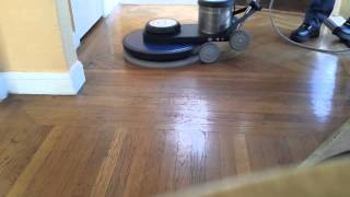 make your wood floor shine