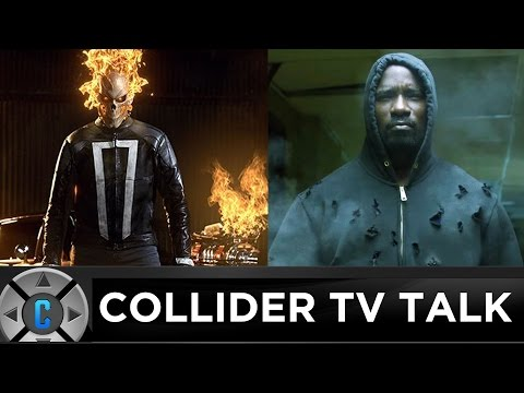 First Ghost Rider In Agents of SHIELD Teaser Trailer, Luke Cage Clip - Collider TV Talk
