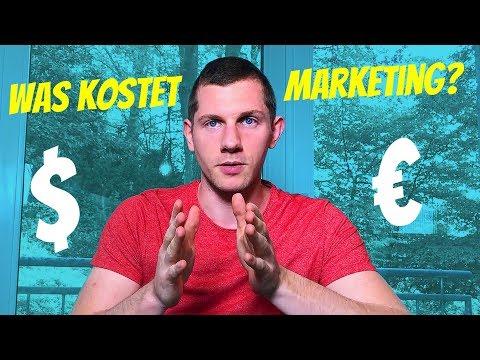 Was kostet Marketing / Onlinemarketing?