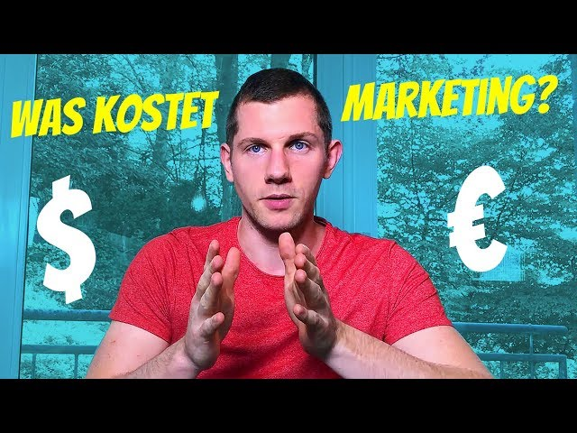 Was kostet Marketing / Onlinemarketing?