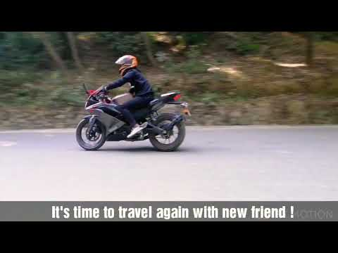 Yamaha R15 V3 in between Nature || Review