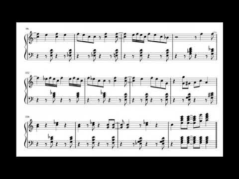 C Jam Blues (Red Garland-Groovy) transcription