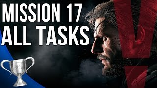 Metal Gear Solid 5 Phantom Pain - Rescue the Intel Agents All Tasks (Mission 17)