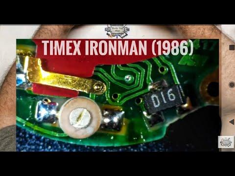 Timex Ironman Watch Repair (1986 Version)