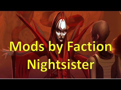 Nightsister | Mods by Faction | Star Wars Galaxy of Heroes - YouTube