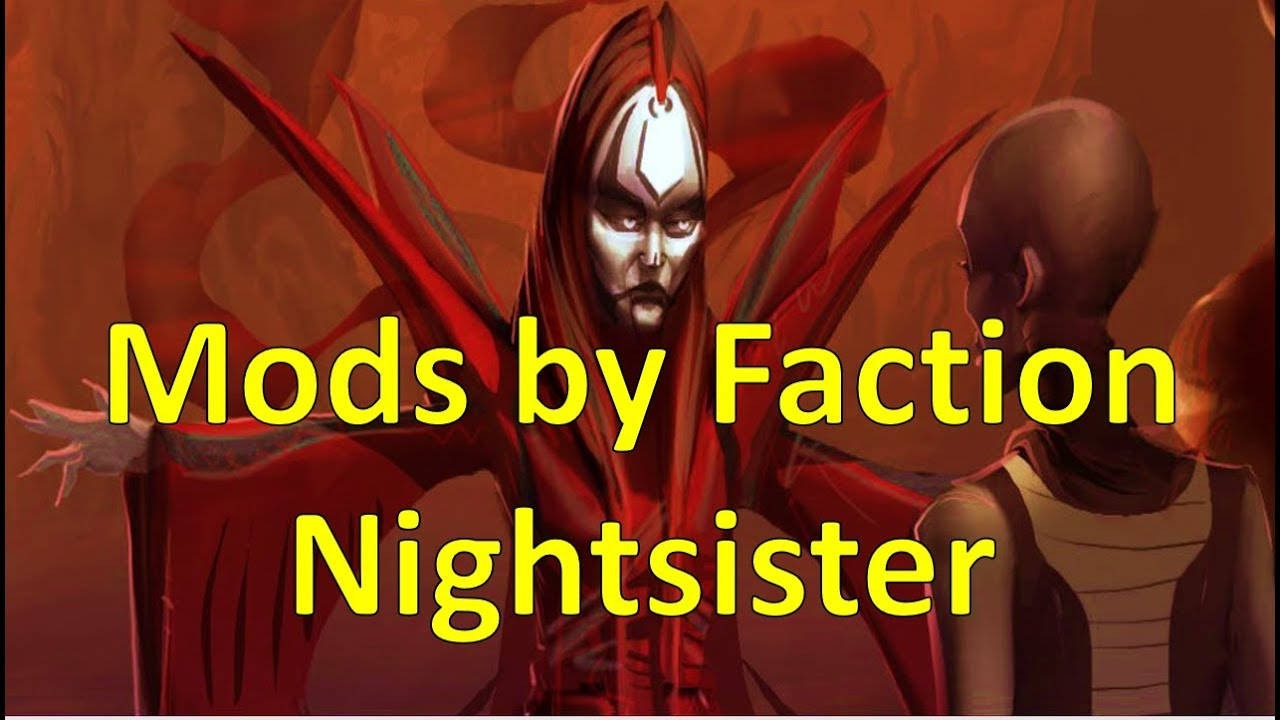 Nightsister | Mods by Faction | Star Wars Galaxy of Heroes