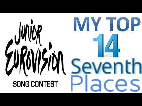 Junior Eurovision 2003 - 2017:My Top 14 Seventh Places