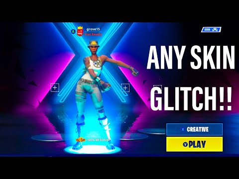 Get ANY RARE SKIN Or STW CHARACTER In A BATTLE ROYALE LOBBY! Season X Skin Glitch Fortnite