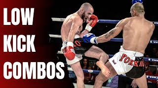5 Muay Thai Low Kick Combos For Beginners