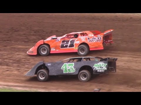RUSH Crate Late Model Heat One | McKean County Raceway | 7-22-17