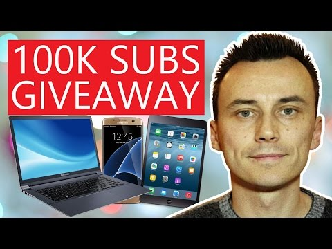 100,000 SUBSCRIBERS BIG PRIZE GIVEAWAY | ENTER TO WIN HERE !!!