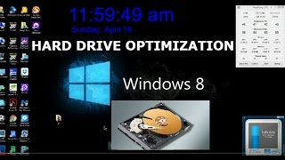 Hard Drive Optimization