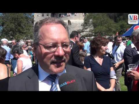 Staatsfeiertag 2012: Interviews mit den FBP und VU Präsident